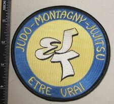 Judo-Montagny-Jujitsu Patch - Martial Arts