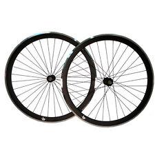 Rueda fixie FK negra mate CNC TRASERA   REAR CNC Matt black fixed wheel FK