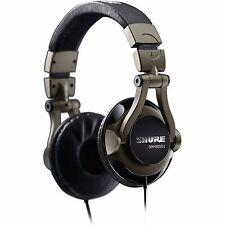 SHURE SRH550DJ Professional DJ Mixing Headphones - AUTHORIZED USA DEALER