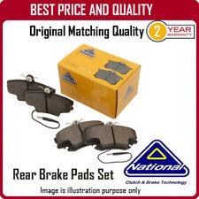 NP2276 NATIONAL REAR BRAKE PADS  FOR HONDA S2000