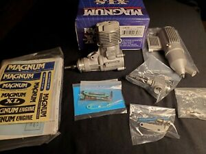 "Magnum XLS Engine - Magnum XLS46A ""N.I.B"" WITH MUFFLER, Ships Worldwide"