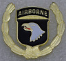 101ST AIRBORNE DIVISION PIN - U. S. ARMY Pin / Vest Lapel Hat Pin / Collectible