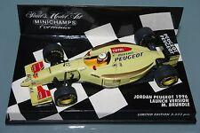 Minichamps F1 1/43 JORDAN PEUGEOT 1996 LAUNCH VERSION - MARTIN BRUNDLE