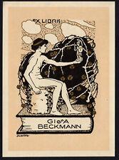 27)Nr.104- EXLIBRIS- Georg Jilovsky  - Jugendstil / art nouveau