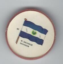 1963 General Mills Flags of the World Premium Coins #40 El Salvador