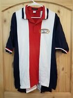 Rare Vtg Ford Mustang Club of Kansas City Polo Shirt by InnerHarbor - Size 2XL
