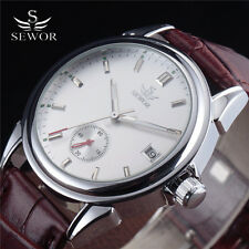 SEWOR Automatic Mechanical Watch Men Luxury Fashion Date Relogio Masculino Reloj