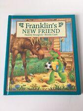 VGC Franklin's New Friend Hardback Book, 1997