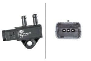 Hella Exhaust Pressure Sensor 6PP009409101 fits Citroen C5 RW_ 2.0 HDi 180