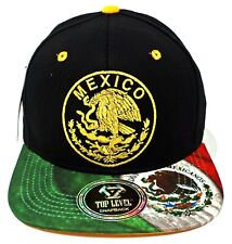 MEXICO Snapback Cap Hat Mexican Aguila Flag Soccer Adult OSFM Green Red NWT