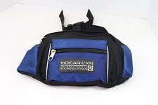 In Gear Expedition Multi Pocket Athletic Fanny Pack Festival Waist Bag Blue