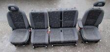 Mercedes W414 Vaneo Innenausstattung Sitze Rückbank Stoff Schwarz Ausstattung