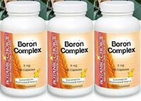 BORON COMPLEX 3MG CITRATE ASPARTATE GLYCINATE BONE PROSTATE SUPPLEMENT 270 CAPS