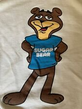 Rare Vintage 1980's Sugar Bear Post Cereal Sweatshirt Adult XL
