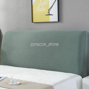 Comfortable Headboard Slipcover Dustproof Protector Cover for Bedroom Decor
