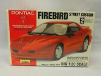 1993 Lindberg Pontiac Firebird Street Custom 1:20 Scale Model 72514 SEALED