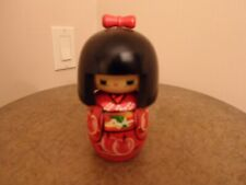 Japanese Wooden Doll New No Box
