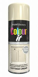 Spray Paint Aerosol Auto Car Primer Matt Gloss Lacquer Wood Metal 250ml/400ml