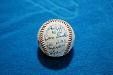 1990 Boston Red Sox team autographed baseball 19 signatures near-mint