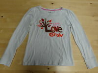 Gap Girls Long Sleeved T-Shirt With Applique - Age 10-11