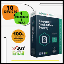 Kaspersky Small Office Security 7 2020 - 10 Device 1 File Sever | 1 Year GLOBAL