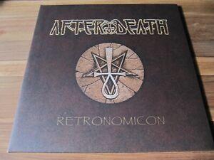 AFTER DEATH -  Retronomicon LP, amber lim. 222, Nocturnus AD Acheron Septicflesh