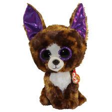 """Ty 9"""" Medium DEXTER Chihuahua Beanie Boos Buddy Plush MWMT's w/ Heart Tags 2017"""