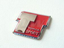RED TOYOTA SPORT T SPORT BADGE MR2 CELICA VVTI GT86 AYGO YARIS 4RUNNER