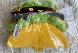 BRAND NEW SPOT ON DOG TACO COSTUME (NO SEQUINS) SIZE X-SMALL