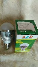 10 + 1 FREE 3W Dimmable ES Cool White LED Light Lamp Bulb Low Energy 240V JobLot