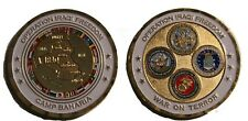 military coin camp baharia oif Iraq Iraqi Freedom War 2003-2010 Genuine