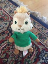 NT* Ty Beanie Baby ~ THEODORE ~ Chipmunk From Alvin and the Chipmunks ~ NO TAG