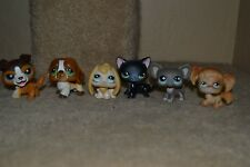 """Littlest Pet Shop Figures LOT OF 6 Collie, DOGS, CATS + - """"NICE CONDITION"""""""