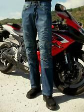 44,46,48 Vaquero Dial Jeans Pantalón Moto con Forro Protector y CE Protecciones