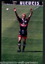Mario Basler super grandi foto 20x30 cm il Bayern Monaco ORIG. Sign. +12