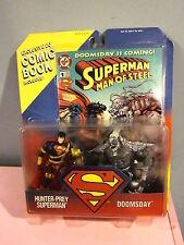 Kenner Hunter-Prey Superman and Doomsday Action Figures