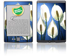Amazon Kindle 4 Ebook Reader-Paz Lily Piel pegatina cubierta