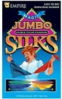 """Jumbo Silk by Empire 54"""" Double Color Changing Hanky Magic Trick w/ Instructions"""
