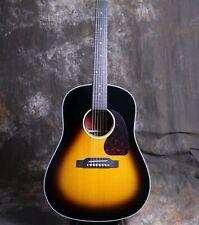 41'' J-45 Electric Acoustic Guitar Rosewood Back&Side Bone Nut Grover Tuner
