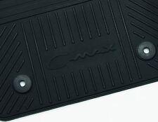 FORD C-MAX 04/15 > Rear Tappetini gomma standard/Mat Black 2nd RIGA 1686206