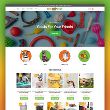 Pet Shop Dropshipping Website Business Fully Ready To Go