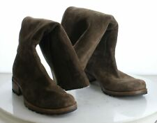 19-48 MSRP $227.95 Women's Size 9 UGG Australia Broome Brown Leather Tall Boots