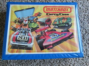 1976 MATCHBOX 48 CAR CARRY CASE WITH 4 TRAYS VG CONDITION