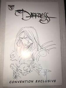 The Darkness #25 (1999, Image Comics) Exclusive Original Sketch Signed