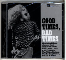 MOJO - Good Times, Bad Times - 15-track CD