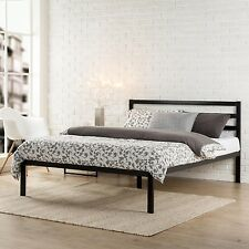Metal Bed Frame Twin Full Queen King Size Mattress Foundation Platform Headboard
