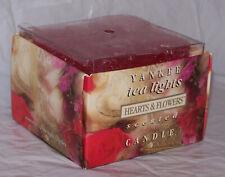 RARE Yankee Candle Tea Lights ~ Hearts & Flowers