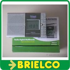 RADIO DIGITAL MULTIBANDA TMRAD100 TAMAÑO 120x74x25MM LCD FUNCION BLOQUEO BD3895