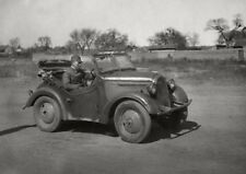 WWII Photo WW2 Japanese Officer in Car 1942  World War Two Japan / 2499