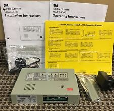 3M Model A300 Digital Drive Thru Audio Greeter - New In Box